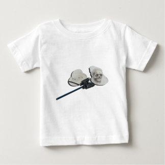 PithHelmetNetSkullBinocular021613.png ベビーTシャツ