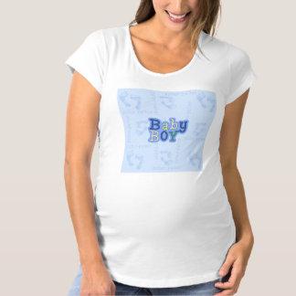 Pitterの軽い音の男の赤ちゃんの女性の妊婦のなTシャツ マタニティTシャツ