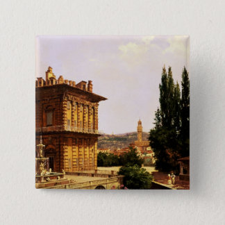 Pitti宮殿によって、フィレンツェ 5.1cm 正方形バッジ