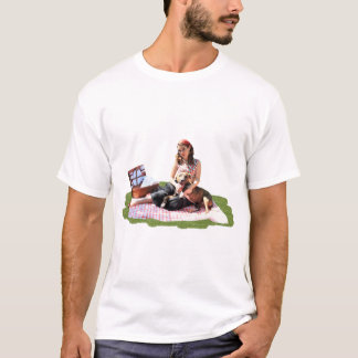 Pittieのピクニック Tシャツ