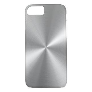 PixDezinesののどによってブラシをかけられるアルミニウム iPhone 8/7ケース