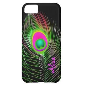 PixDezinesのサイケデリックな孔雀かdiy色 iPhone5Cケース
