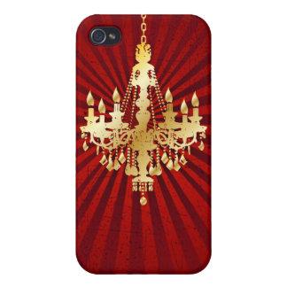 PixDezinesのシャンデリア + ディスコ光線 iPhone 4 Cover