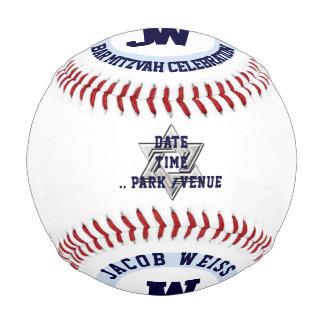 PixDezinesのバーの(ユダヤ教の)バル・ミツバーの野球の/DIYのフォント+色 野球ボール