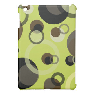 PixDezinesのモダンな泡、背景のカスタマイズ可能な♥♥♥ iPad Miniケース