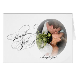 PixDezinesのロマンチックな結婚式写真またはWhite/DIYの文字 カード
