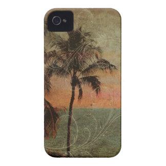 PixDezinesのヴィンテージのハワイのビーチ、hapuna Case-Mate iPhone 4 ケース