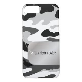 PixDezinesの北極迷彩柄かドッグタッグ iPhone 8/7ケース