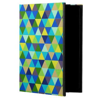 PixDezinesの幾何学的な孔雀の緑 Powis iPad Air 2 ケース