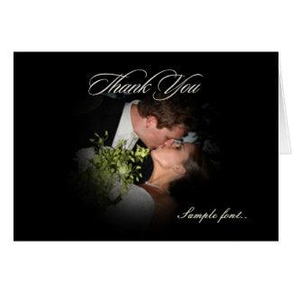 PixDezinesの明白でロマンチックな写真Frame/DIYの文字 グリーティングカード