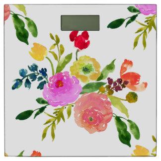 PixDezinesの花柄か水彩画またはRanunculus 体重計