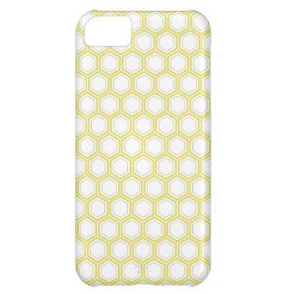 PixDezinesの蜜蜂の巣pattern/DIY色 iPhone5Cケース