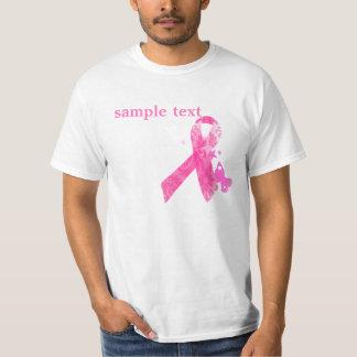 PixDezinesの蟹座の認識度、ピンクのリボン Tシャツ