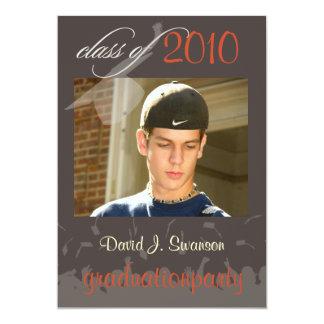 PixDezinesの2011年の卒業か写真または帽子+ガウン カード