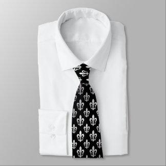 PixDezinesの(紋章の)フラ・ダ・リ/DIYの背景色 ネクタイ