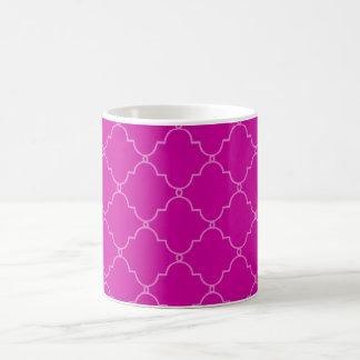 PixDezinesのdiy色、モロッコの格子垣 コーヒーマグカップ