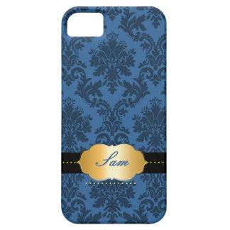 PixDezinesのLaのパロマDamask/DIY色 iPhone SE/5/5s ケース