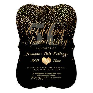 PixDezinesは金ゴールドか第50結婚記念日を眩ましました カード
