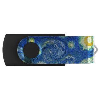 PixDezinesゴッホ星明かりのNight/St。 Remy USBフラッシュドライブ