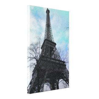 PixDezinesパリのエッフェル塔 キャンバスプリント