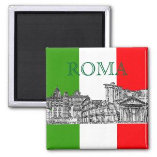 PixDezinesローマ、ローマ…旅行記念品のギフト マグネット