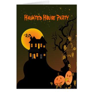 PixDezines幽霊のよく出るなManson、ハロウィン カード