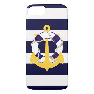 PixDezines航海のなかいかりかdiy色 iPhone 8/7ケース