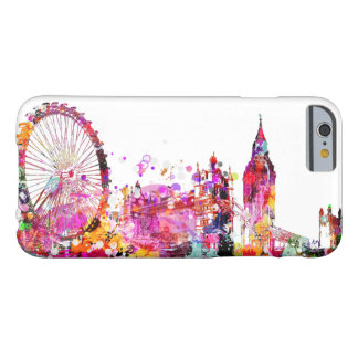 PixDezines都市ロンドンのスカイライン Barely There iPhone 6 ケース