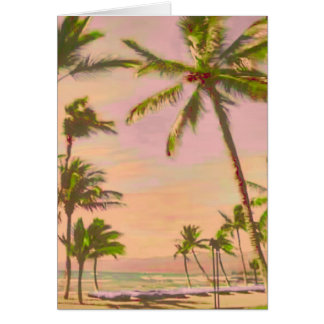 PixDezines ヴィンテージ ハワイ 浜かDIYcolor