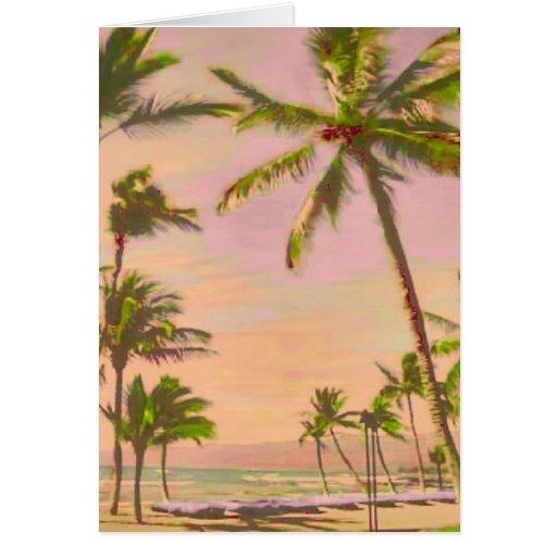 PixDezines ヴィンテージ ハワイ 浜かDIYcolor!