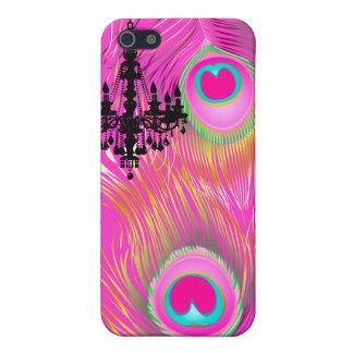 PixDezines Pzazzの孔雀の羽 iPhone 5 Cover