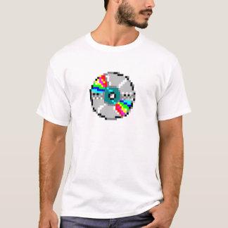 pixelated dvd tシャツ