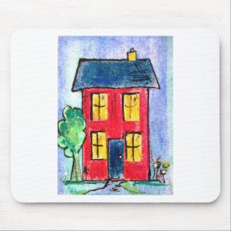 pixi -art.comによる赤い家 マウスパッド