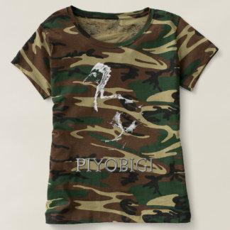 PIYOBIGI Ladies camouflage Tshirt Tシャツ