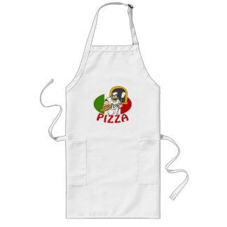 Pizzaioloおよびピザ ロングエプロン