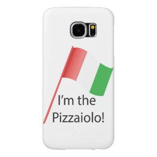 Pizzaioloの場合 Samsung Galaxy S6 ケース