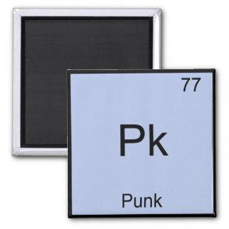 Pk -パンクのおもしろいな化学要素の記号のTシャツ マグネット