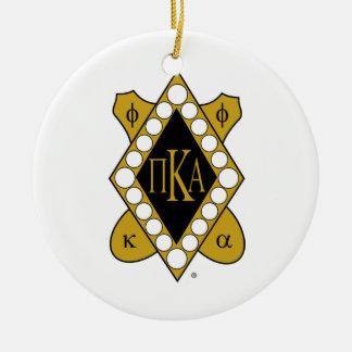 PKAの金ゴールドのダイヤモンド セラミックオーナメント