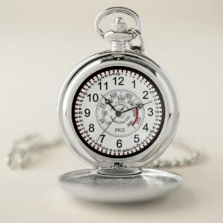 PKEの圧力計の壊中時計 ポケットウォッチ