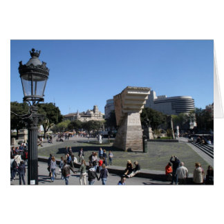 Plaça Catalunya、バルセロナ カード