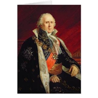 PlaisanceのチャールズFrancois Lebrun公爵 カード