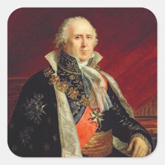 PlaisanceのチャールズFrancois Lebrun公爵 スクエアシール