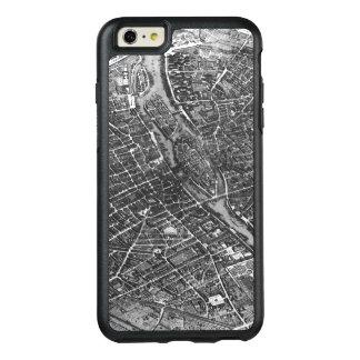 「Plan de Turgot'として知られているパリの計画 オッターボックスiPhone 6/6s Plusケース