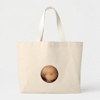 PLANETHOODのためのプルート-キャンペーンを結合して下さい! (宇宙) ラージトートバッグ