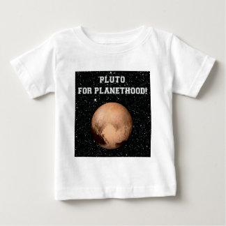PLANETHOODのためのプルート! (宇宙の) ~ ベビーTシャツ