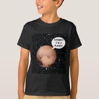 PLANETHOODのためのプルートDAMMIT私は惑星です! Tシャツ