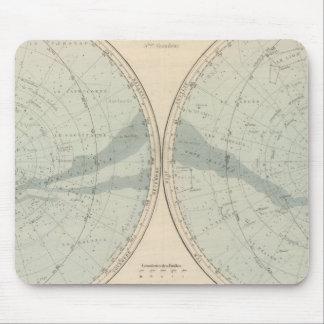 PlanisphereのCeleste半球 マウスパッド