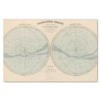 PlanisphereのCeleste半球 薄葉紙
