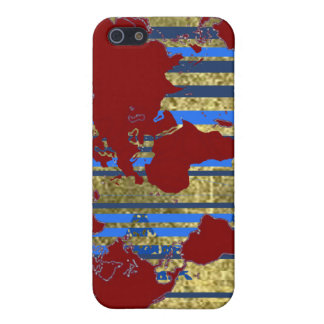 Planisphere世界の地図 iPhone SE/5/5sケース
