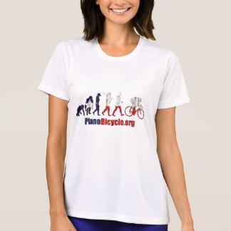 Planoの自転車連合の進化のアートワークのギフト Tシャツ
